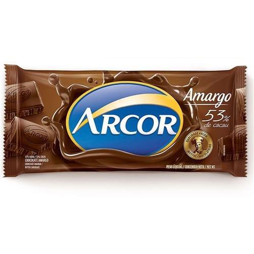 Chocolate Amargo 53% Cacau Arcor 120g