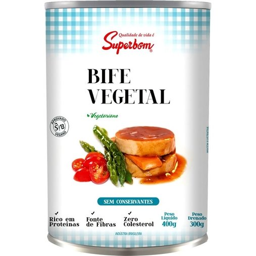 Bife Vegetal Super Bom 300g