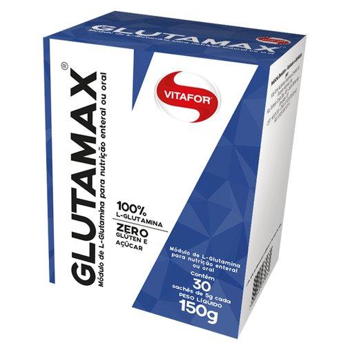 Glutamina Glutamax Vitafor 30 Sachês 5g