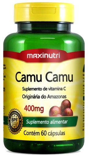 Camu Camu 400mg Maxinutri 60 Cápsulas