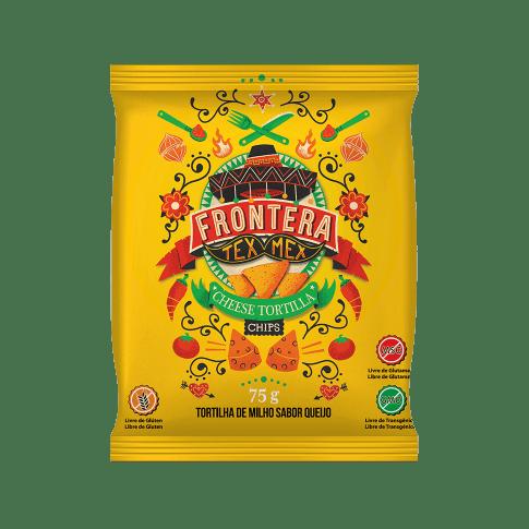 Tortilha de Milho Queijo Frontera 75g