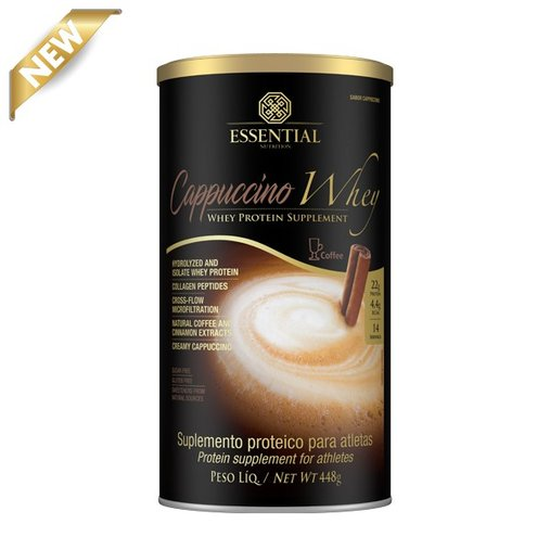 Cappuccino Whey Protein Essential Nutrition 448g