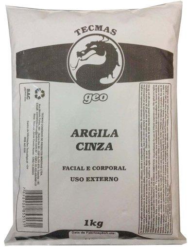 Argila Cinza Tecmas Geo 1kg