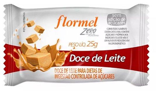 Doce de Leite Zero Açúcar Flormel 25g
