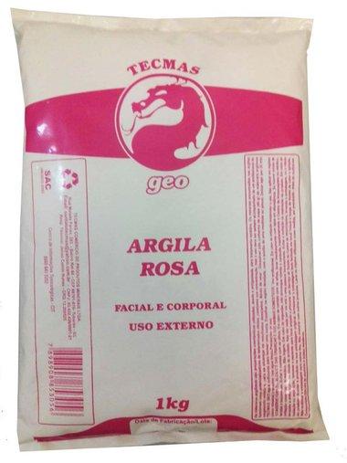 Argila Rosa Tecmas Geo 1kg