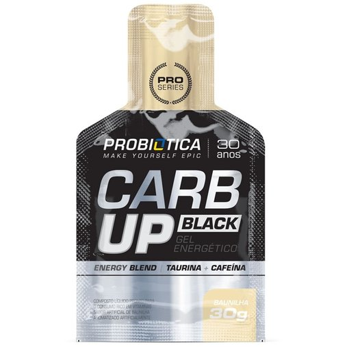 Carb Up Baunilha Probiótica 30g