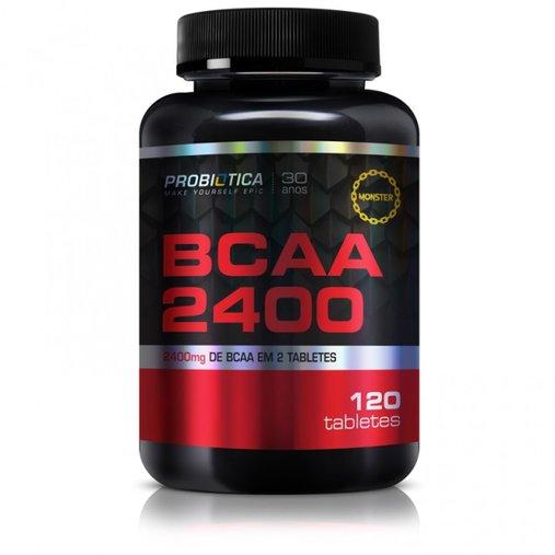 BCAA Probiótica 2400mg 120 Tabletes