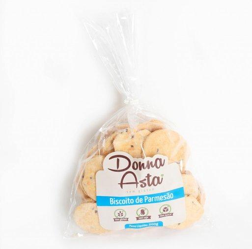 Biscoito de Parmesao Sem Glúten Donna Asta 200g