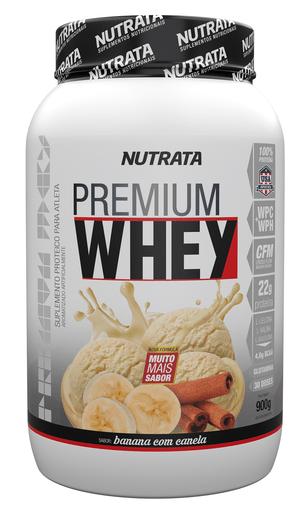 Premium Whey 2W Baunilha  Nutrata 900g
