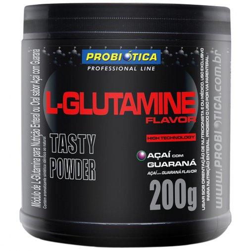 L-Glutamine Açaí com Guaraná Probiótica 200g
