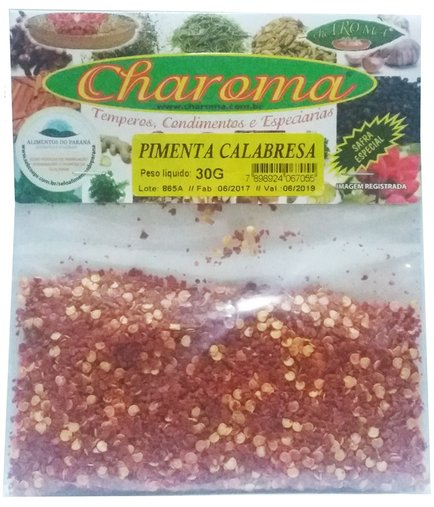 Pimenta Calabresa Charoma 30g