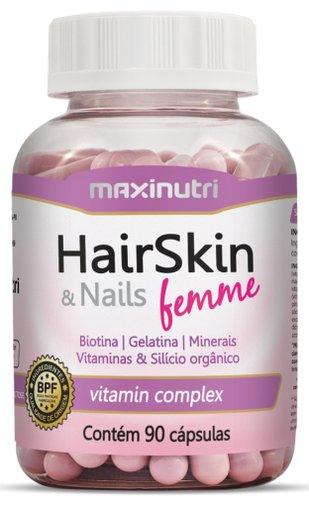 HairSkin & Nails Femme Maxinutri 615 mg 90 Cápsulas