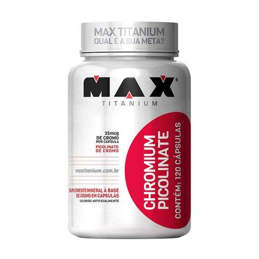 Chromium Picolinate Max Titanium 120 Cápsulas