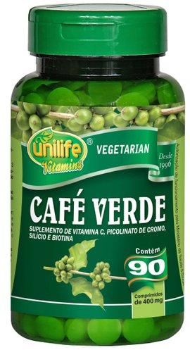 Café Verde 400mg Unilife 90 Comprimidos