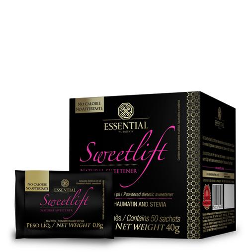 SweetLift Taumarina e Stévia Essential Nutrition 50 Saches
