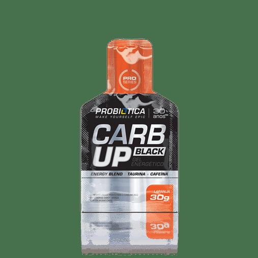 Carb Up Black Sabor Laranja Probiótica 30g