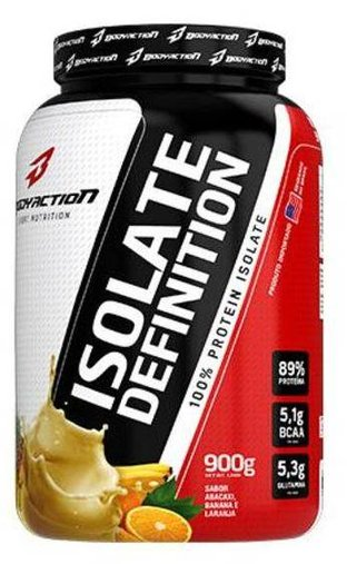 Whey Isolate Definition Abacaxi e Banana Body Action 900g