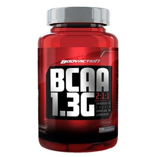 BCAA 1,3g Linha Titanium Body Action 120 Comprimidos