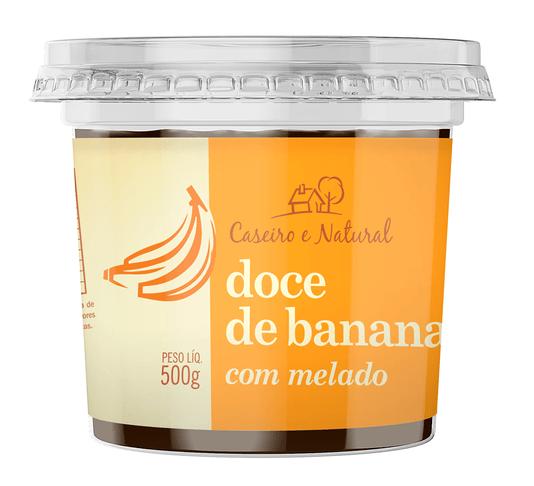 Doce de Banana com Melado Caseiro e Natural 500g