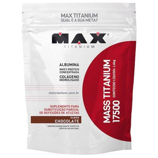 Mass Titanium 17500 Chocolate Max Titanium 1,4Kg