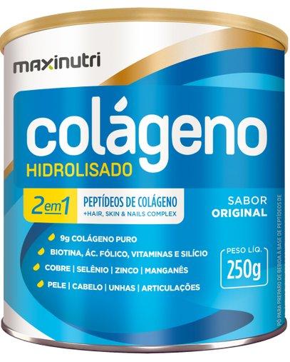 Colágeno Hidrolisado 2 em 1 Original Maxinutri 250g