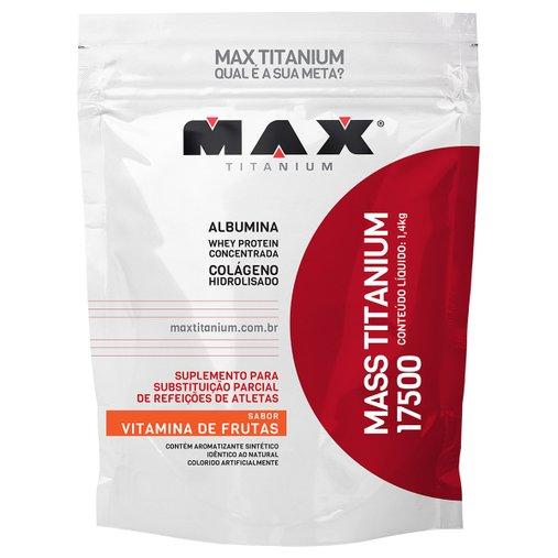 Mass Titanium 17500 Vitamina de Frutas Max Titanium 1,4 Kg