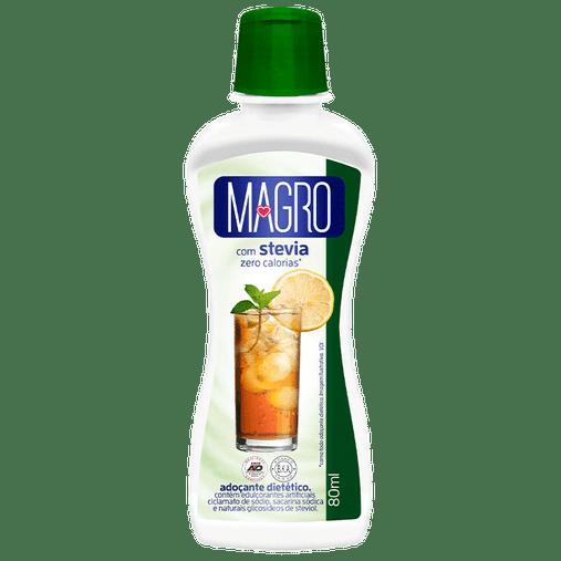 Adoçante Magro Com Stevia Lowçucar 80mL