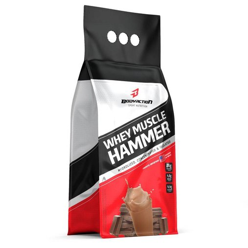 Whey Muscle Hammer Chocolate Body Action 900g
