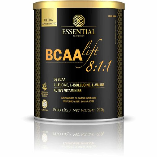BCAA Lift Sabor Limão Essential Nutrition 210g
