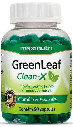 GreenLeaf Detox Maxinutri 603 mg 90 Cápsulas