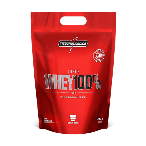 Super Whey 100% Pure Baunilha Integral Medica 907g