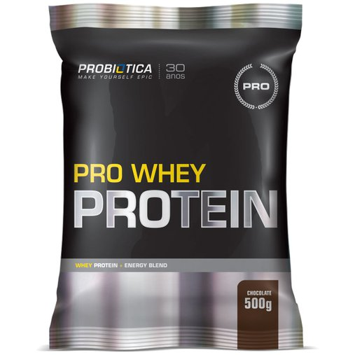 Pro Whey Protein Chocolate Probiótica 500g