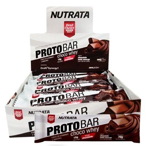 Proto Bar Choco Whey Nutrata 8 un x 70g