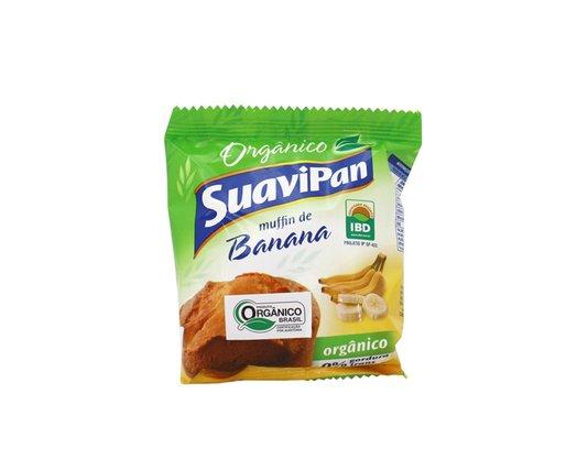 Muffin Banana Orgânico Suapan 40g