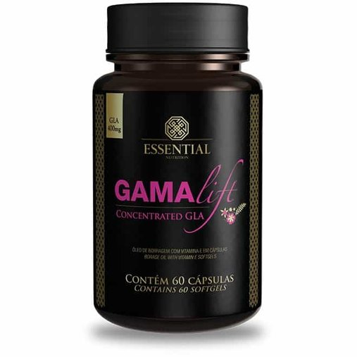 GamaLift Gla 400mg Essentail Nutrition 60 Cápsulas