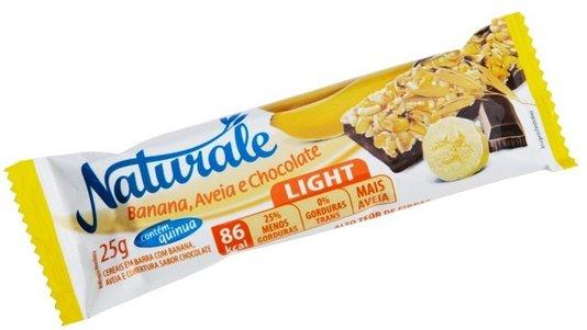 Barra de Cereal Banana com Chocolate Light Naturale 25g