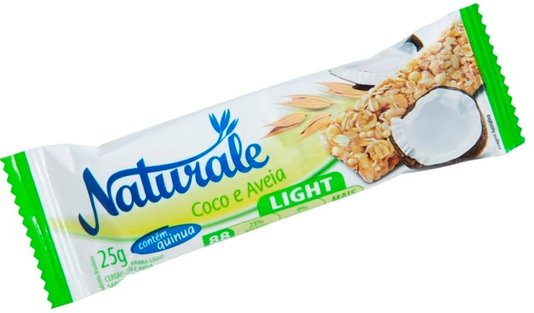 Barra de Cereal Coco e Aveia Light Naturale 25g
