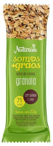 Barra de Cereal Granola Naturale 22g