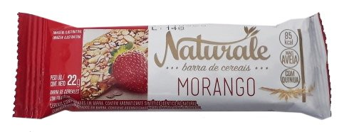 Barra de Cereal Morango Naturale 22g