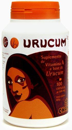 Urucum Chamed 500 mg 100 Cápsulas