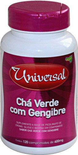 Chá Universal Extrato Verde 400 mg 120 Comprimidos