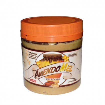 Pasta de Amendoim Crocante/Mel Amendomel Thiani 1kg