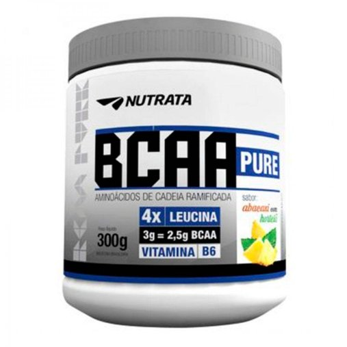 BCAA Pure 4.1.3 Abacaxi com Hortelã Nutrata 300g