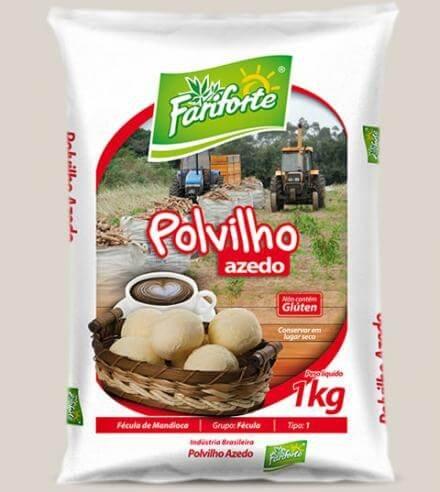 Polvilho Azedo Fariforte 1kg