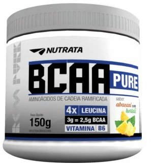 BCAA Pure 4.1.3 Abacaxi com Hortelã Nutrata 150g