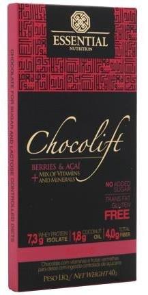 Chocolift Be Alive Berries e Açaí Essential Nutrition 40g