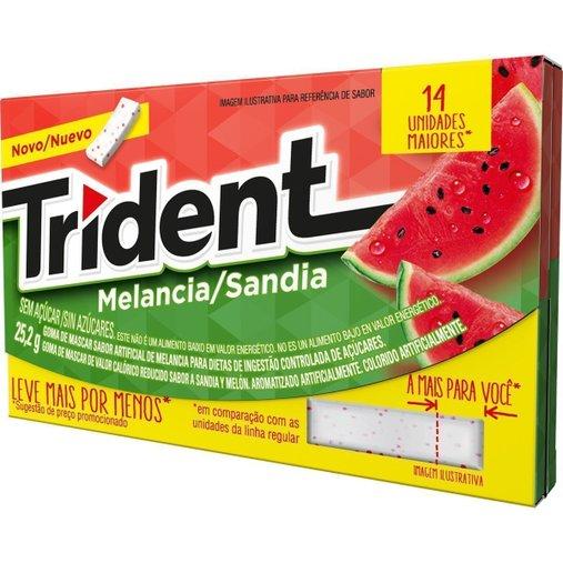 Trident Melancia 14 Unidades 1,8g