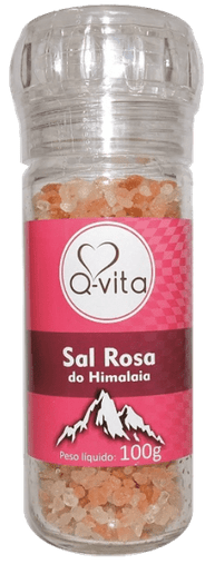 Sal Rosa do Himalaia Grosso Q-Vita 100g
