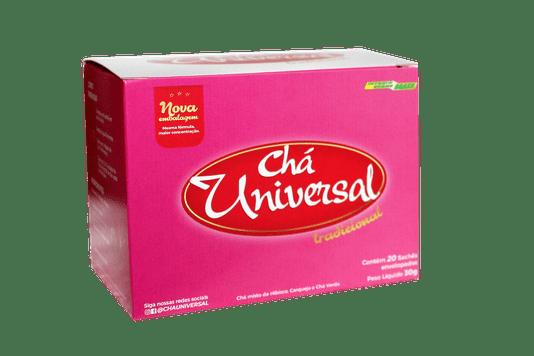 Chá Universal Tradicional 20 Sachês 30g