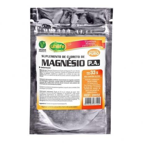 Cloreto de Magnésio Unilife 33g